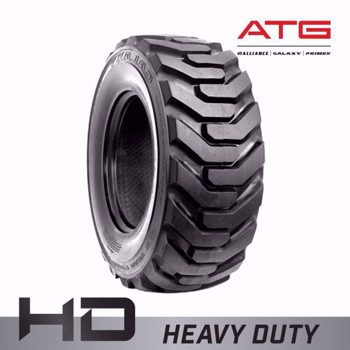 12.5/80x18 Galaxy Beefy Baby II R4 Backhoe/Skid Steer Tire - Heavy Duty