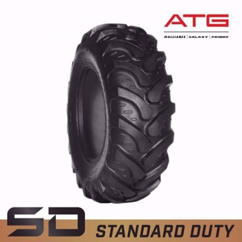 19.5L-24 Galaxy EZ R4 Rider Backhoe Loader Tire - Standard Duty