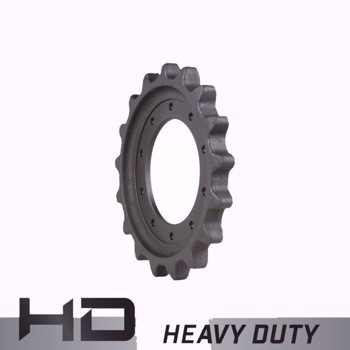 Aftermarket John Deere 319D, 322D,  323d, 329D, 333D Sprocket 254141- Heavy Duty 10 Bolt Holes, 17 Teeth
