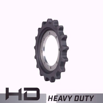Aftermarket Case, New Holland CTL Sprocket 87460888 - Heavy Duty 17 Teeth, 8 Bolt holes