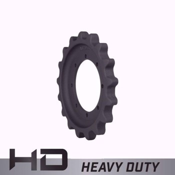 Aftermarket John Deere 319E, 333E, 322E Sprocket ID2641 - Heavy Duty 8 Bolt Holes, 17 Teeth