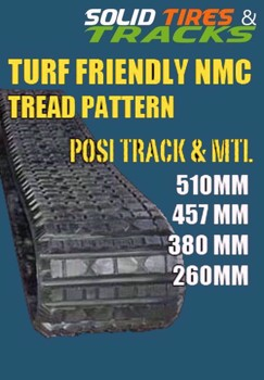 "18"" CAT/ASV Rubber Tracks 457x101.6x56 - Heavy Duty"