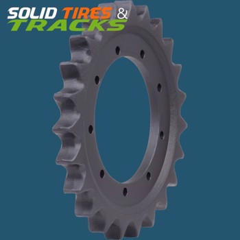 Aftermarket John Deere CT322, Gehl RT175 Sprocket ID2711 - Heavy Duty 8 Holes, 16 Teeth
