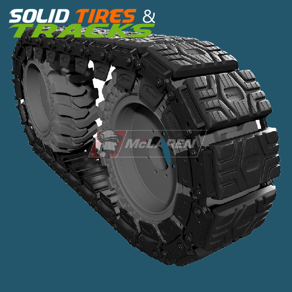 Skid Steer Over The Tire Rubber Tracks For Sale Mclaren Over The