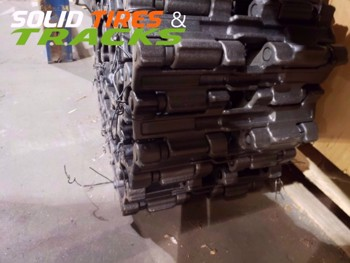 "16"" Two Duroforce CTL Steel Tracks 400x86x52 - Heavy Duty"
