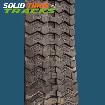 Skid Steer/ CTL Zig Zag Snow Rubber Track - Heavy Duty