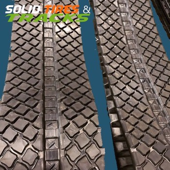 Skid Steer/ CTL Turf Friendly Rubber Track - Heavy Duty